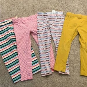 Girls leggings bundle 4T